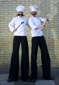 The Chefs - Comedy Stiltwalkers