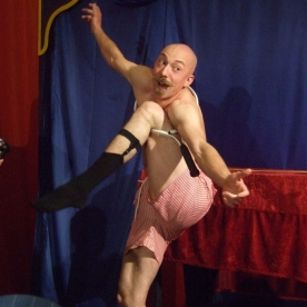Bendini - Sword Swallower and Contortionist