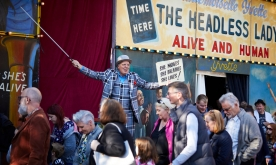 The Headless Lady and more - Original Fairground Sideshows