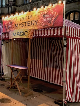 Tent of Mystery - for outdoor events